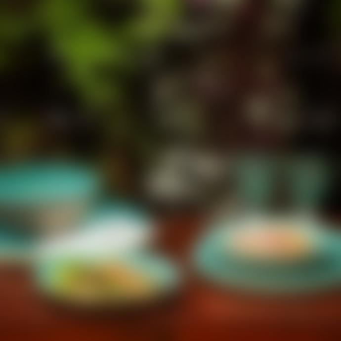 Casa Alegre Blue Thick Textured 18CM Sauvage Small Plate