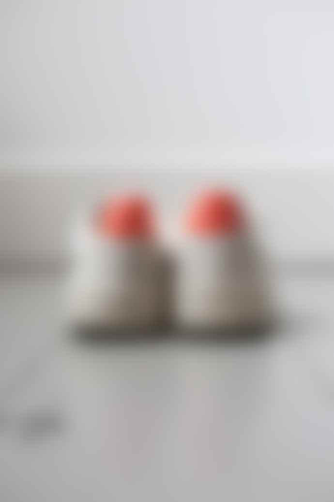 Veja V 10 White Petal Orange Fluro Sneakers