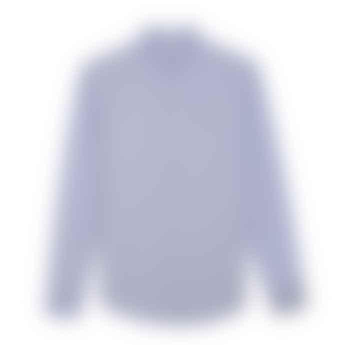 Farah Brewer Slim Fit Oxford Shirt Sky Blue