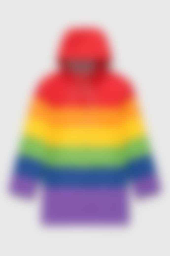 Stutterheim Multicolour Vladimir Rainbow Raincoat Unisex