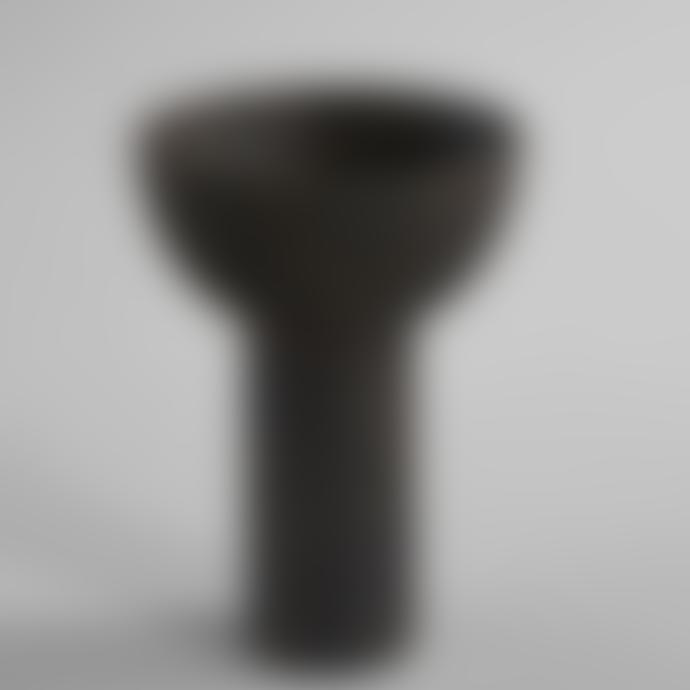 101 Copenhagen  Coffee Medio Block Vase
