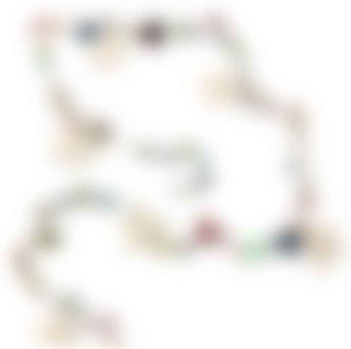 Hyde And Seek Multicoloured Bead Star Garland