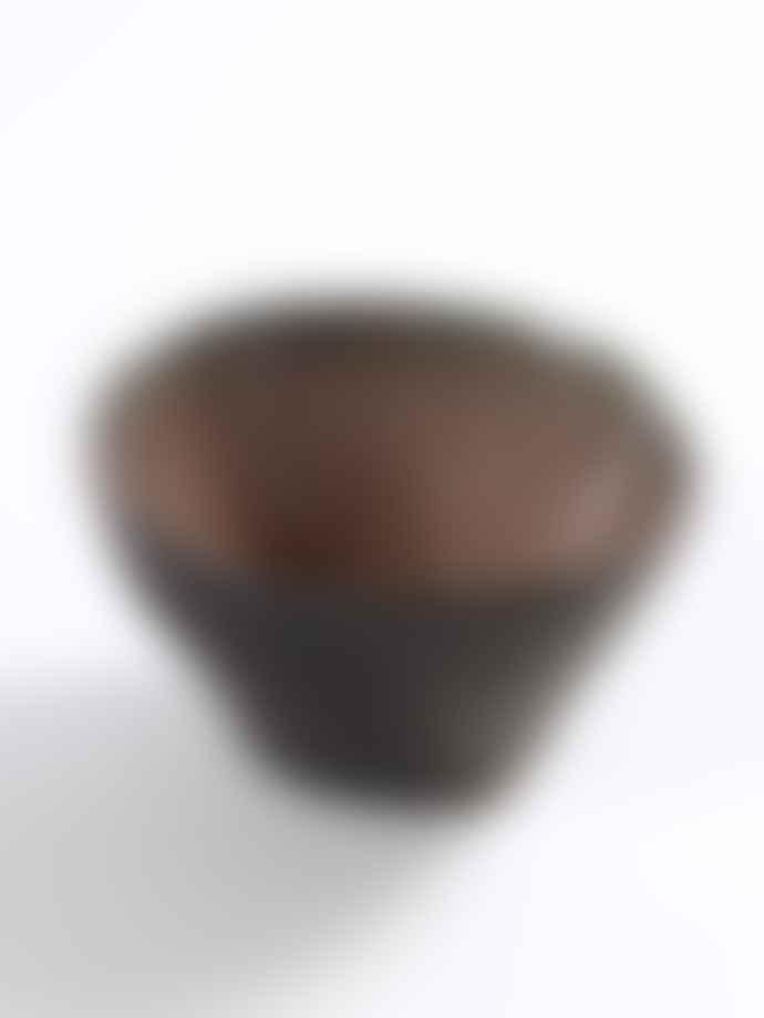 Serax Set of 4 Small Brown Bowl
