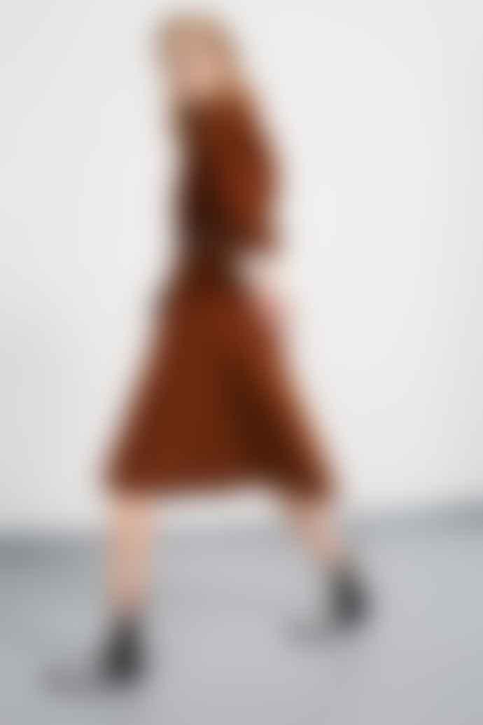 Set Fashion Dress 66650 In Toffee