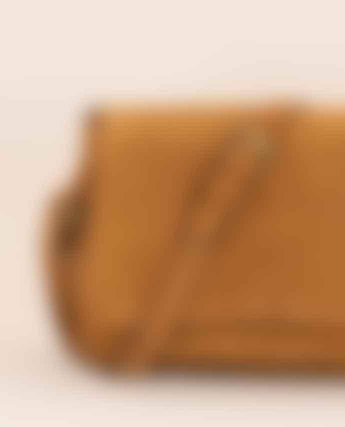 Sessun Tano Suede Rust Bag
