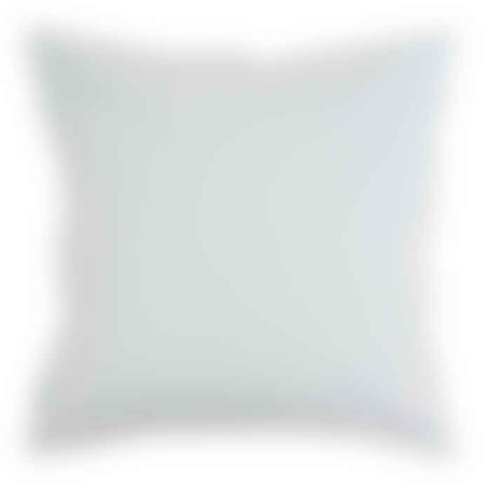 Wallace Cotton Stonewashed Cotton Large Square Pillowcase Blue