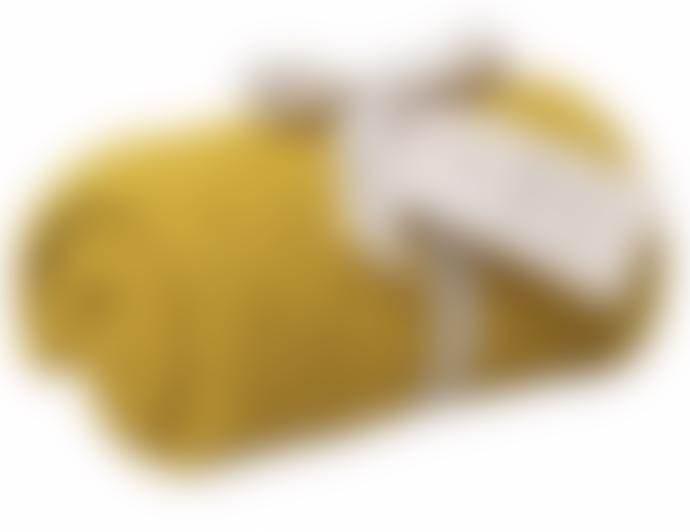 Garbo & Friends Yellow Cotton Blanket