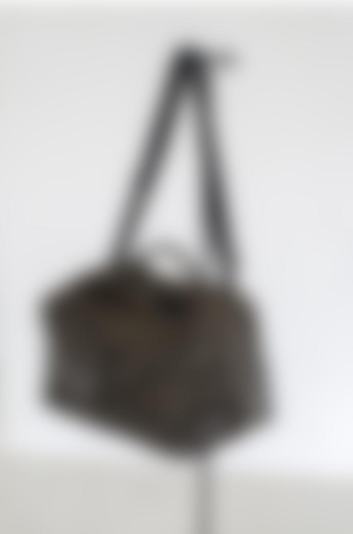 Serax Weekend Leather Bag Black