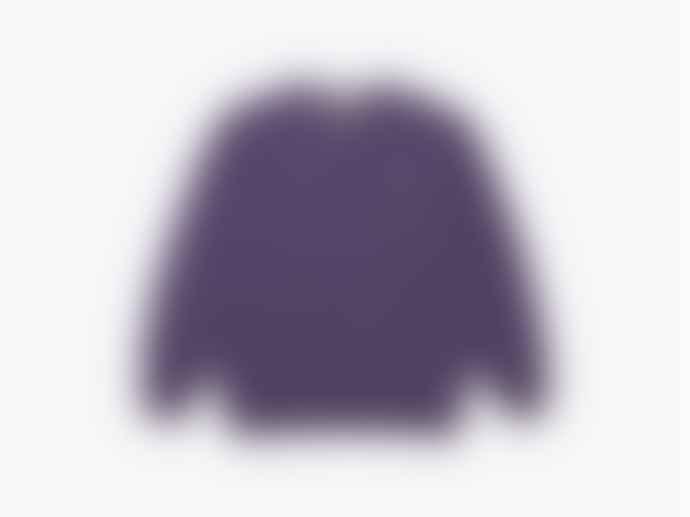 WEMOTO Sweater Flag Crew Purple