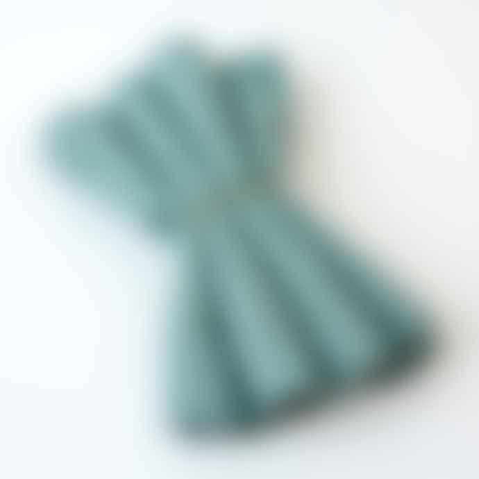 Berylune Set Of Four Washed Linen Napkins Mint