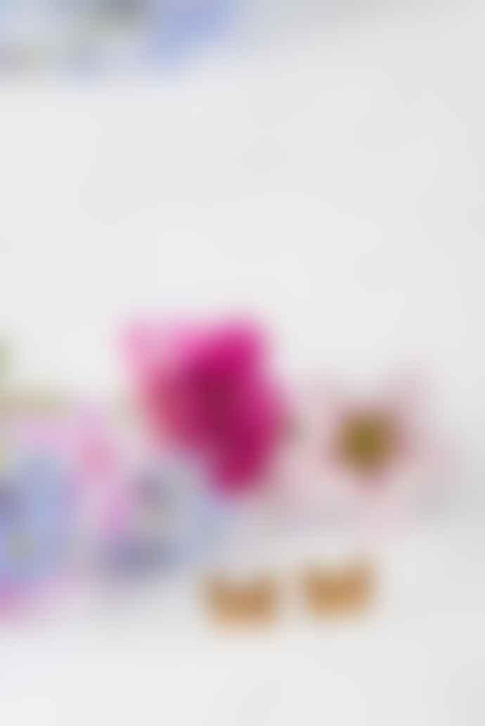 Amanda Coleman Handmade Mini Butterfly Gold Studs