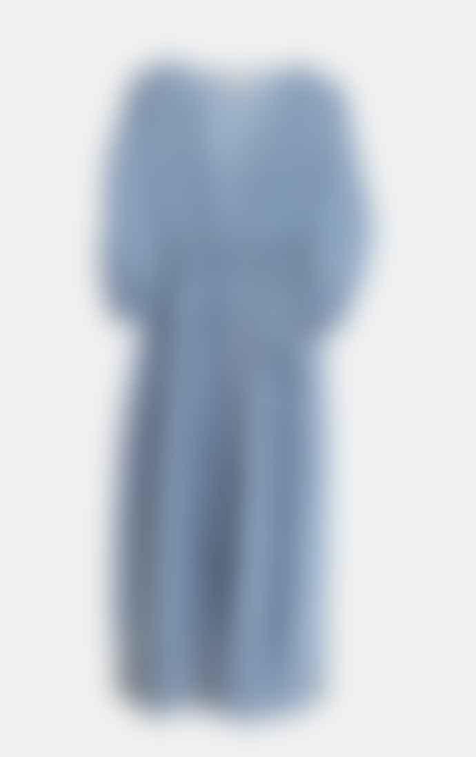 Dream Blue Print Roma Dress