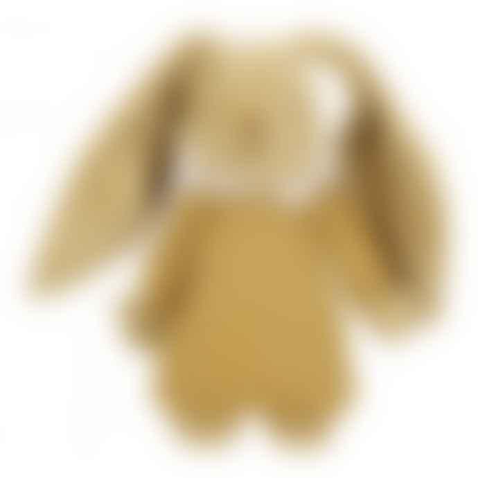 Trousselier Curry Linen Musical Rabbit Doudou