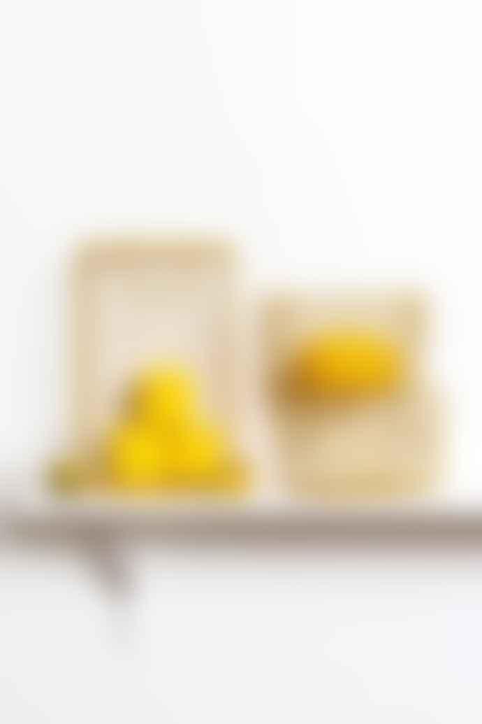 Mustard Made Set Of 3 Baskets In Mustard