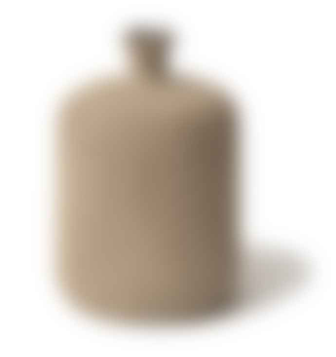Lindform Bottle Vase Medium Sand Stripe Medium