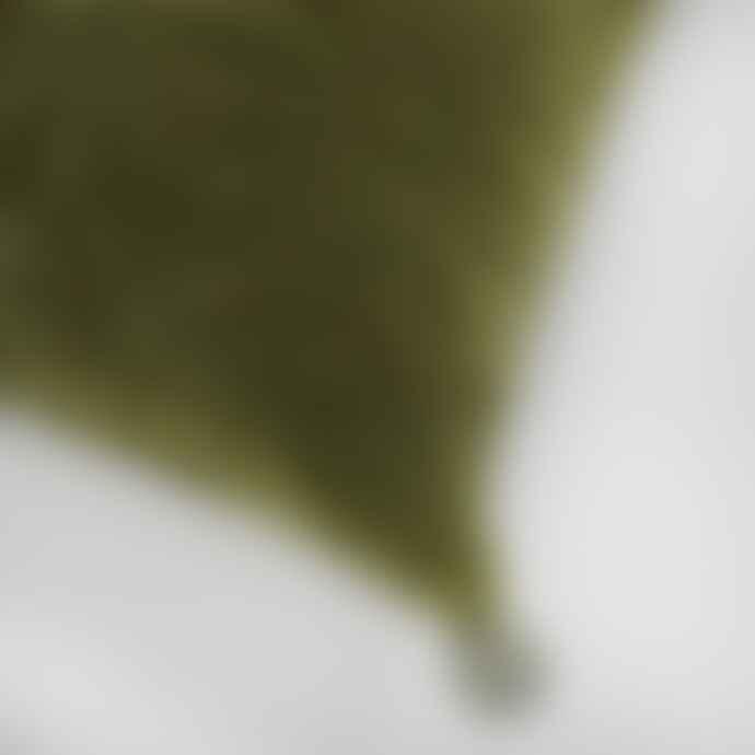 Projektityyny Tahti Velvet Cushion Olive
