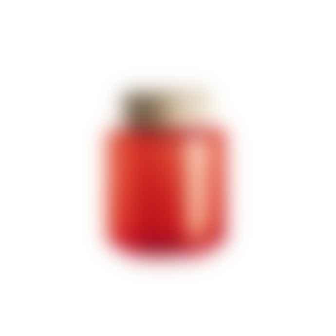 Holmegaard Palet Orange Glass Jar .35L