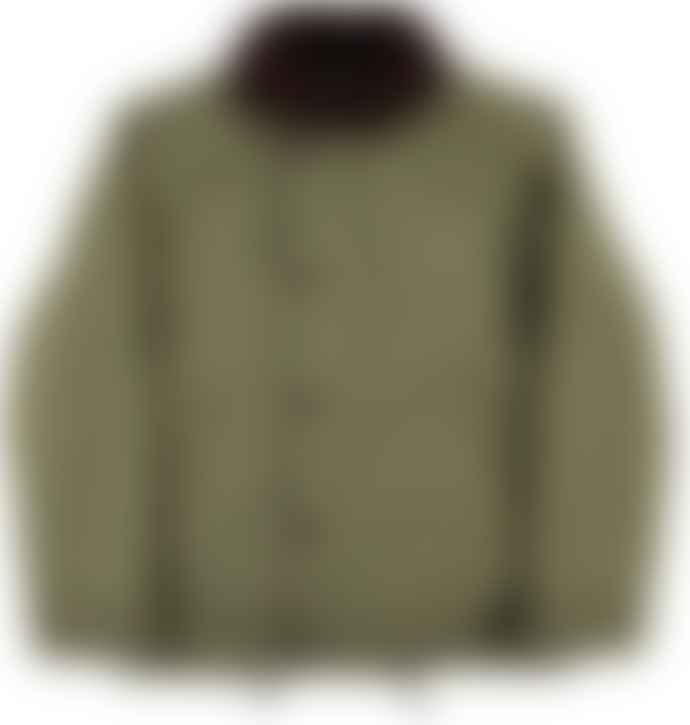 Eat Dust Khaki Bedford Cords Deck Jacket