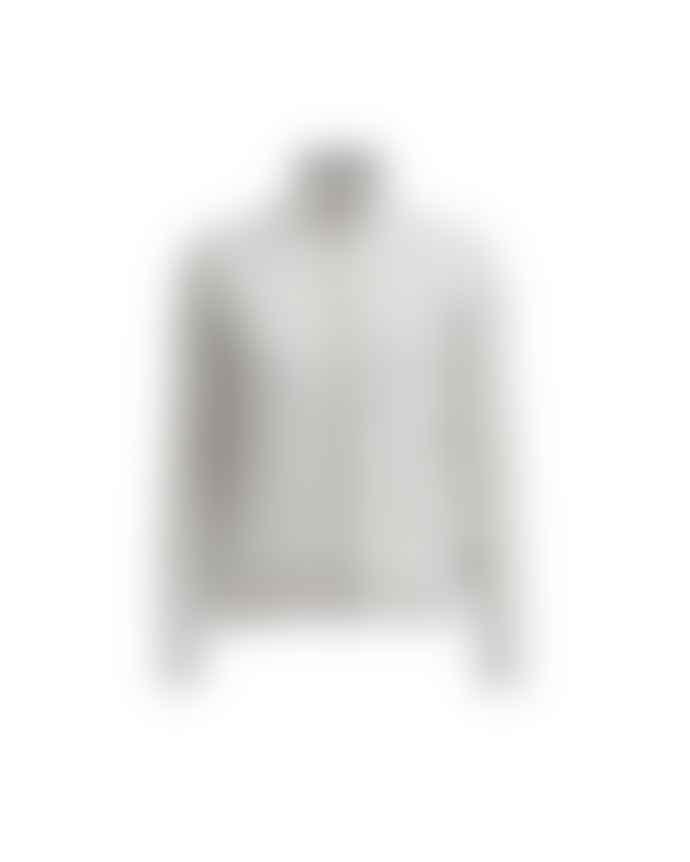 Holebrook Grey Melange Claire Fullzip Knitted Wind Proof Jacket