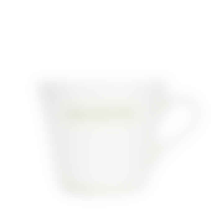 Make International Medium White Standard Bucket Mug with Green Home Sweet Home Text