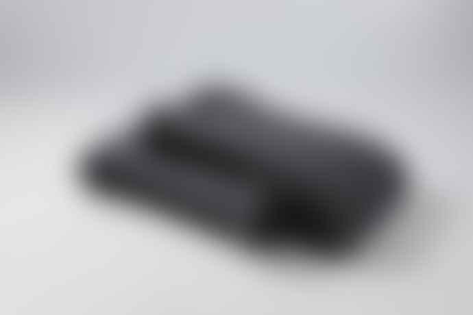 Mantas Ezcaray Dark Gray Mohair Smooth Blanket