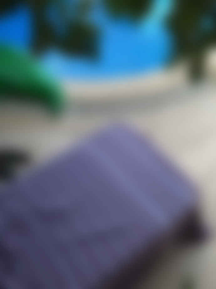 Ottomania Dark Purple and White Hammam Towel