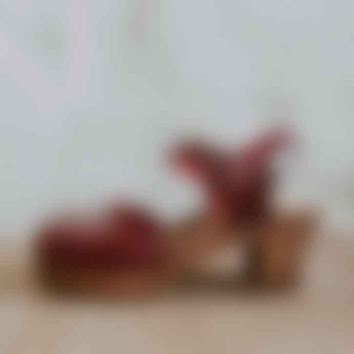 kitty clogs Garnet Mid Aaliyah 973 Oxblood Clog