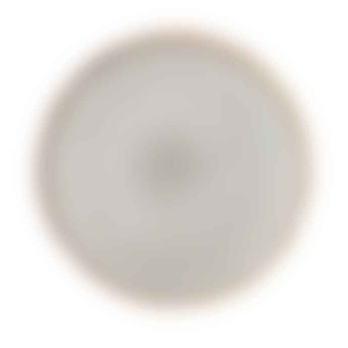Bloomingville Sandrine Plate Grey Stoneware