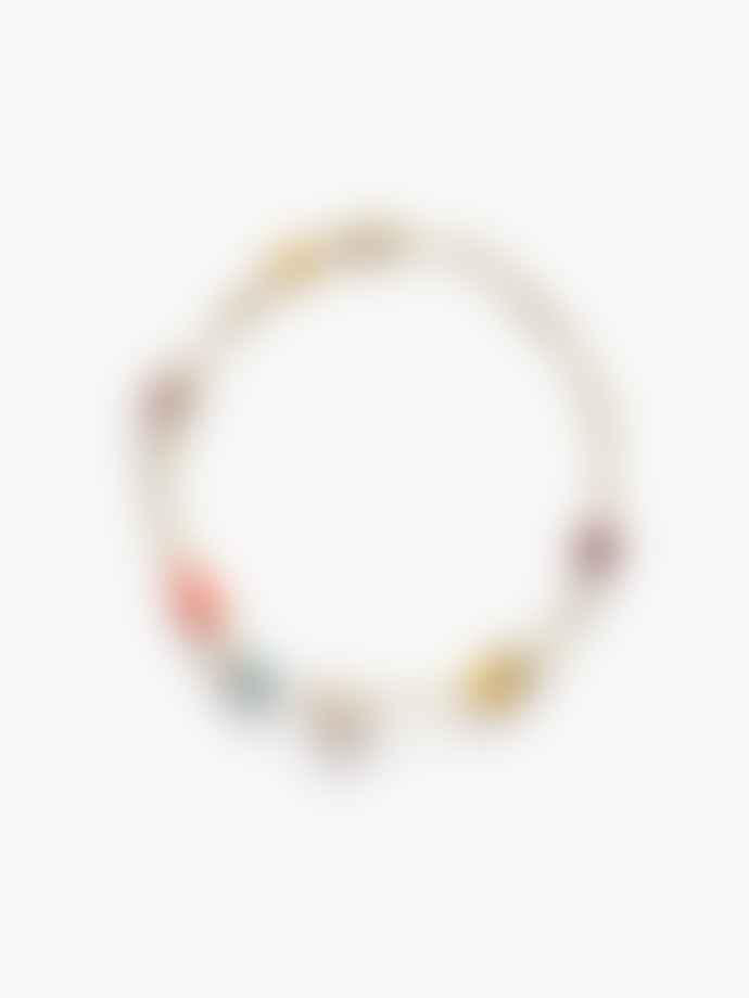 Anni Lu Gold Rising Sun Bracelet