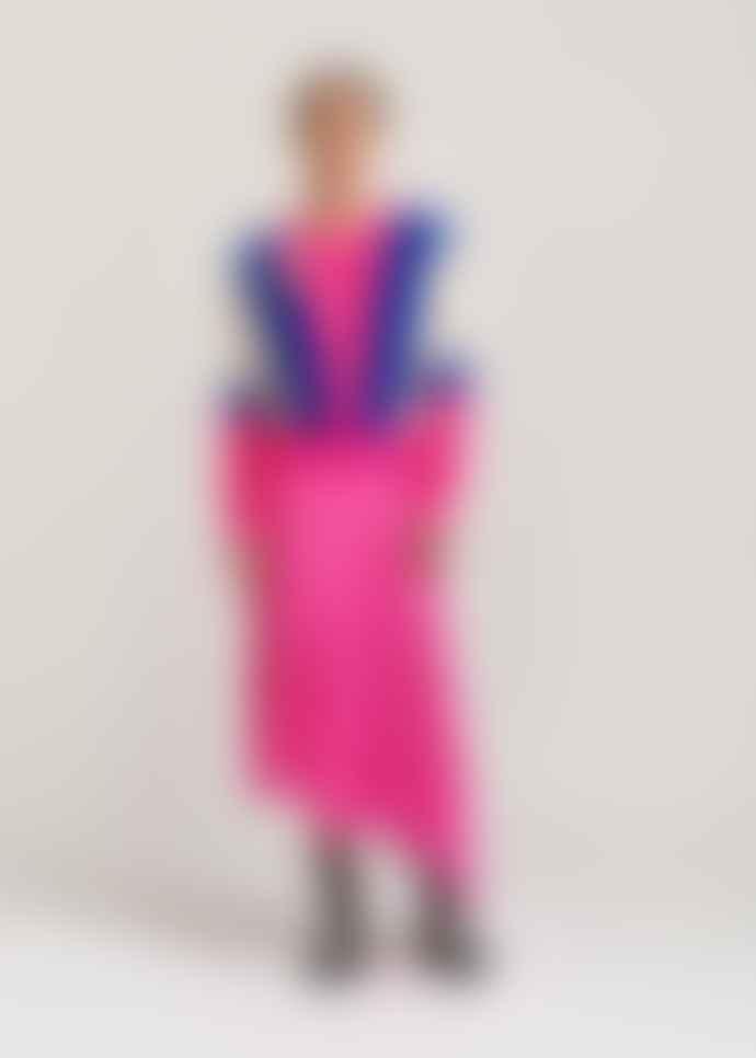 Essentiel Antwerp Neon Pink Polka Dot Print Vadorable Skirt