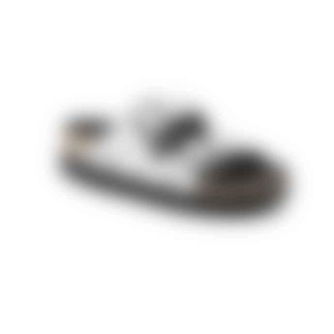Birkenstock Arizona Pap White Black Dots Sandal