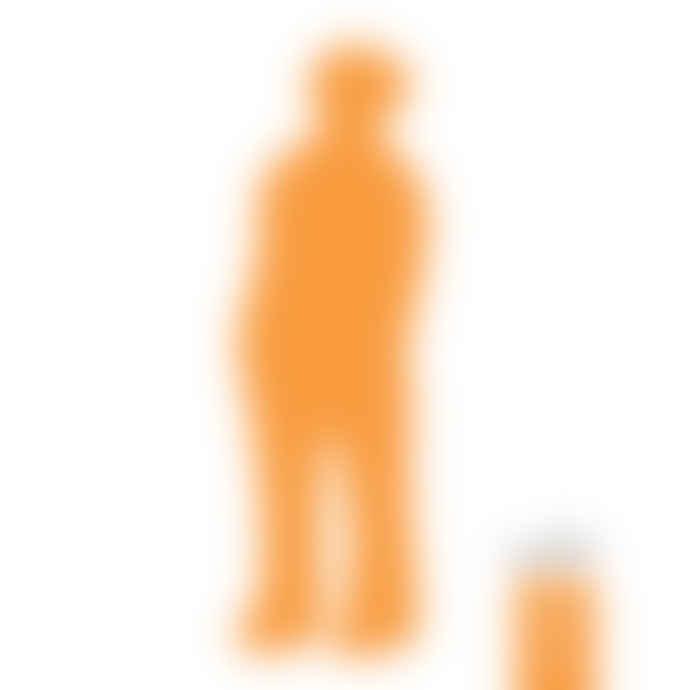 CORES DA TERRA The Visitor Medium Cremic Sculpture - 43 Orange Acafrao Clear