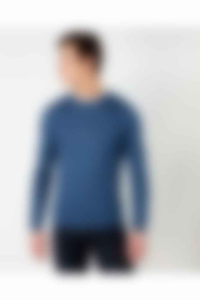 Remus Uomo Dark Blue Crew Neck Sweater