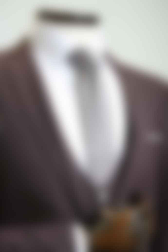 Remus Uomo Lazio Burgundy Grey Check Jacket