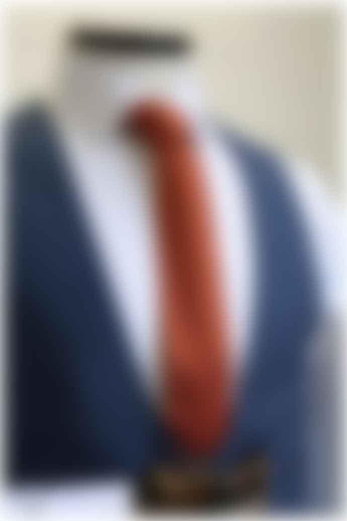 Remus Uomo Laro Blue Check Patterned Waistcoat