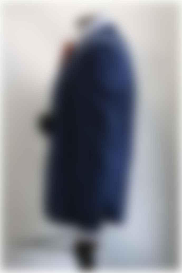 Remus Uomo Laro Blue Check Patterned Jacket