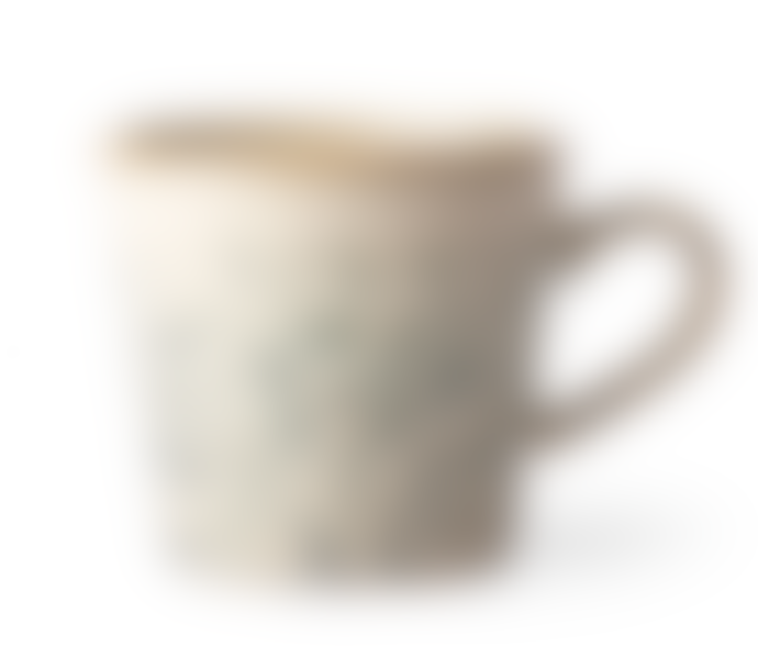 HKliving Set of 4 Ceramic Cappuccino Cups