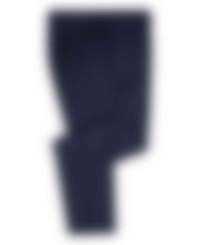 Remus Uomo Mario Navy With Burgundy Micro Check Suit Trousers