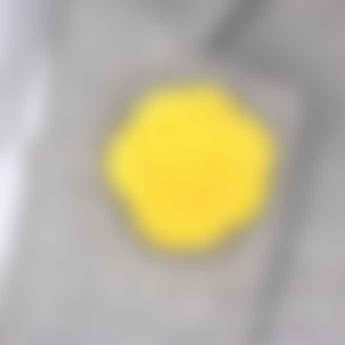 Outfit Toolkit Lemon Felt Lapel Flower Pin
