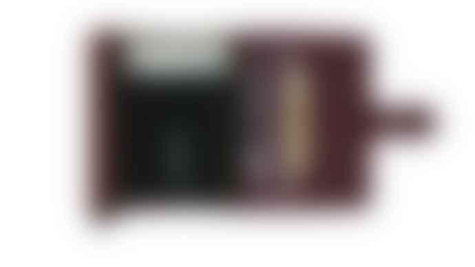 Secrid Original Bordeaux Leather Mini Wallet