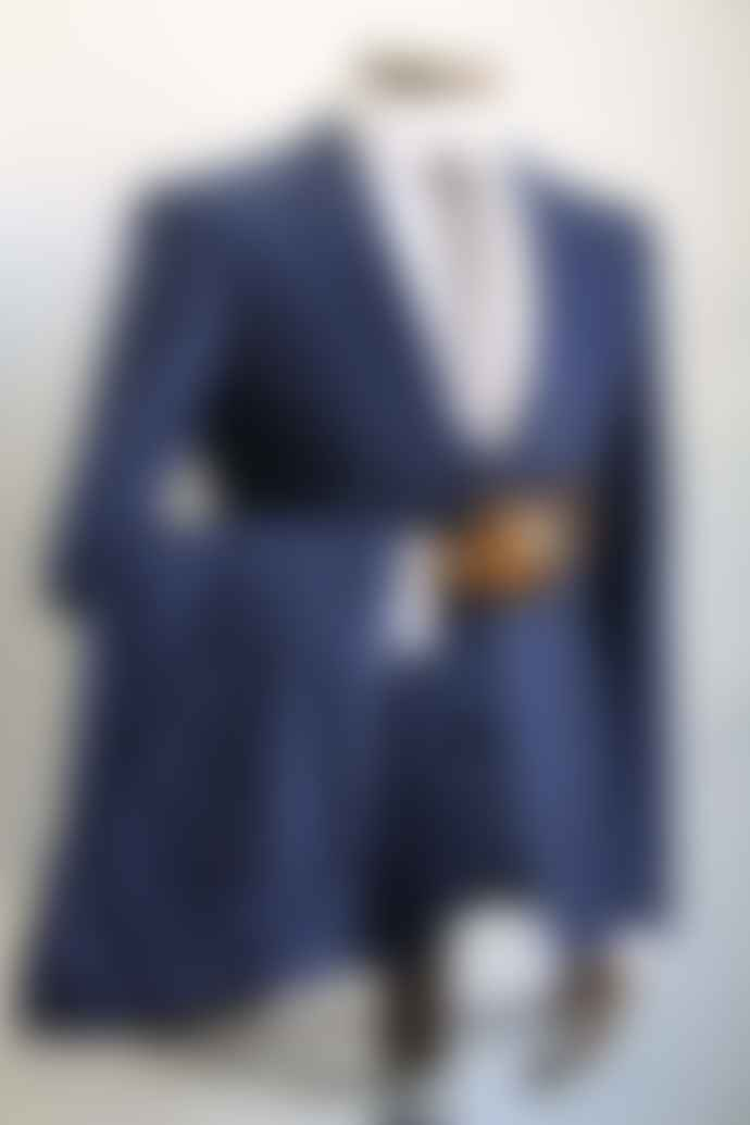 Remus Uomo Luca French Blue Suit Trousers