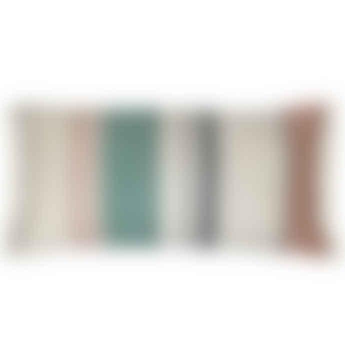 Malagoon Multicolor Pastel Boucle Cushion
