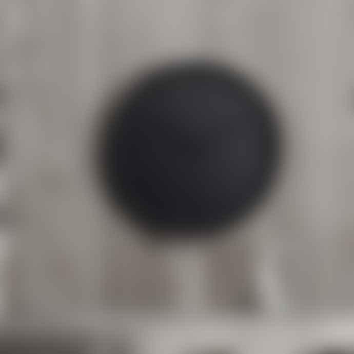 HUYGENS Tone Series Wall Clock Black 25 Cm