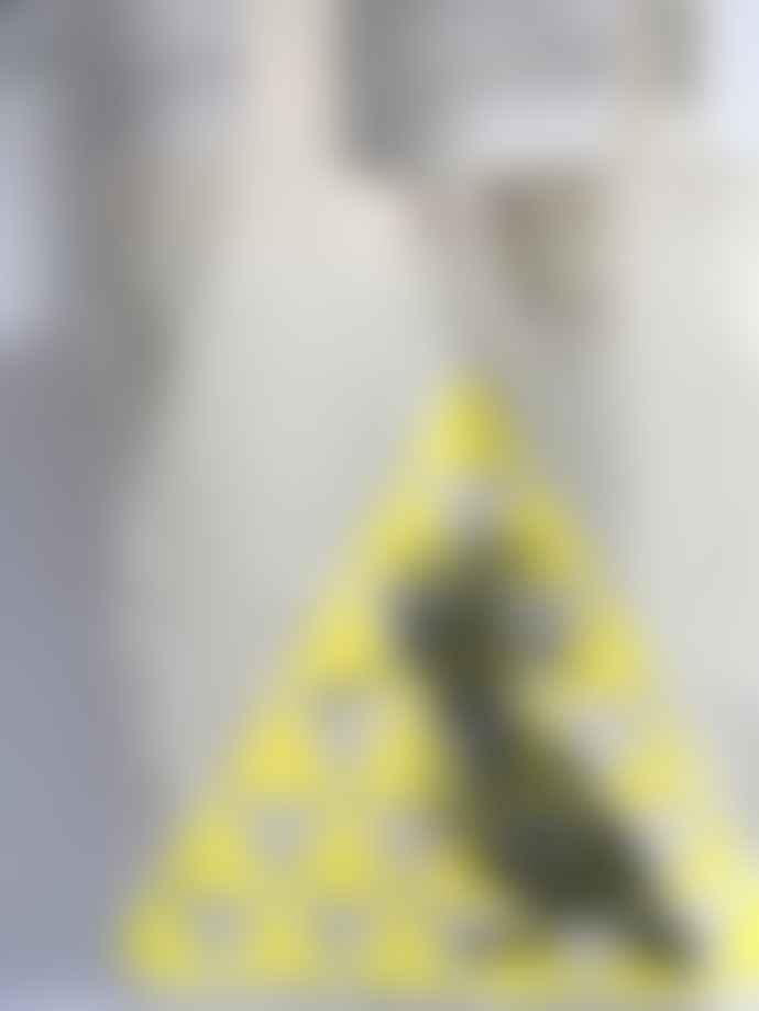 Loretta Cosima Natural Yellow Triangle Papacy Epops Bag
