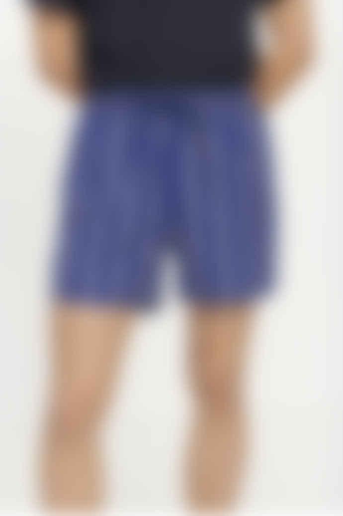 SamsoeSamsoe Blue Striped Mason Swim Shorts