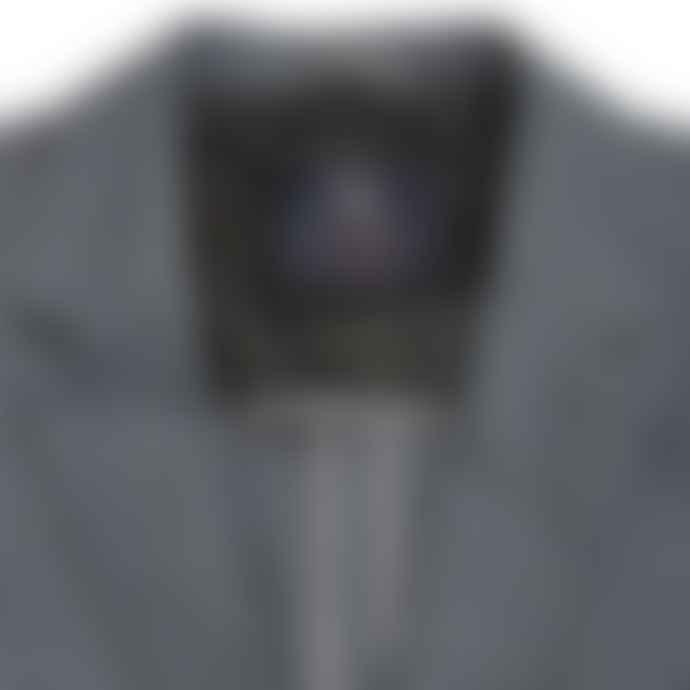 Blue de Genes Leopardi Spin Blazer Pale Grey