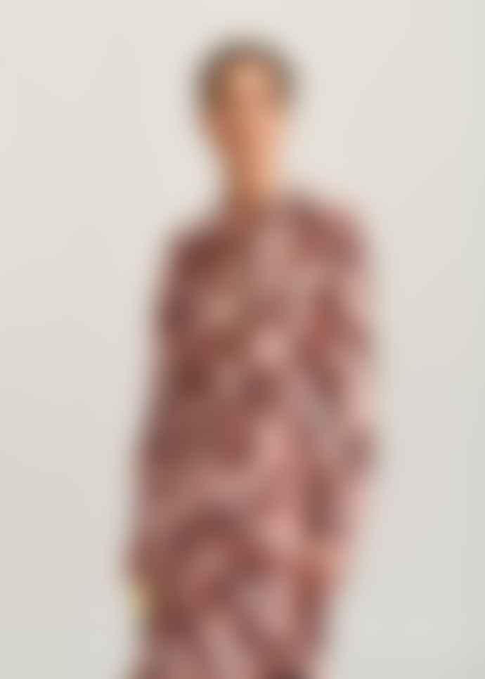 Essentiel Antwerp Pink Floral Print Voho Shirt Dress