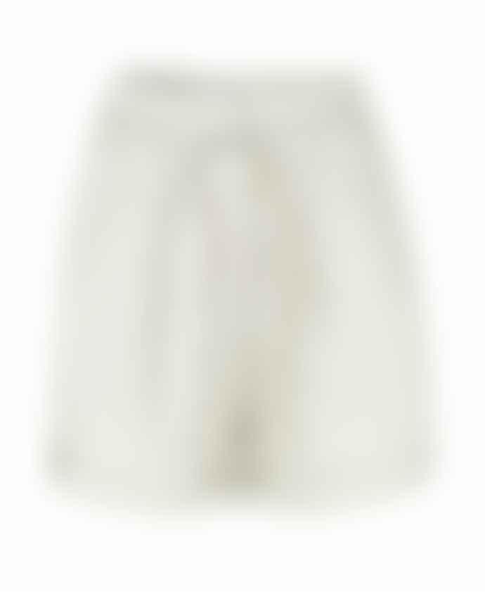 SamsoeSamsoe Warm White Linen Mix Manz Shorts