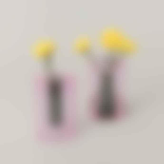 Block Design Copy Of Small Reversible Vase Pink