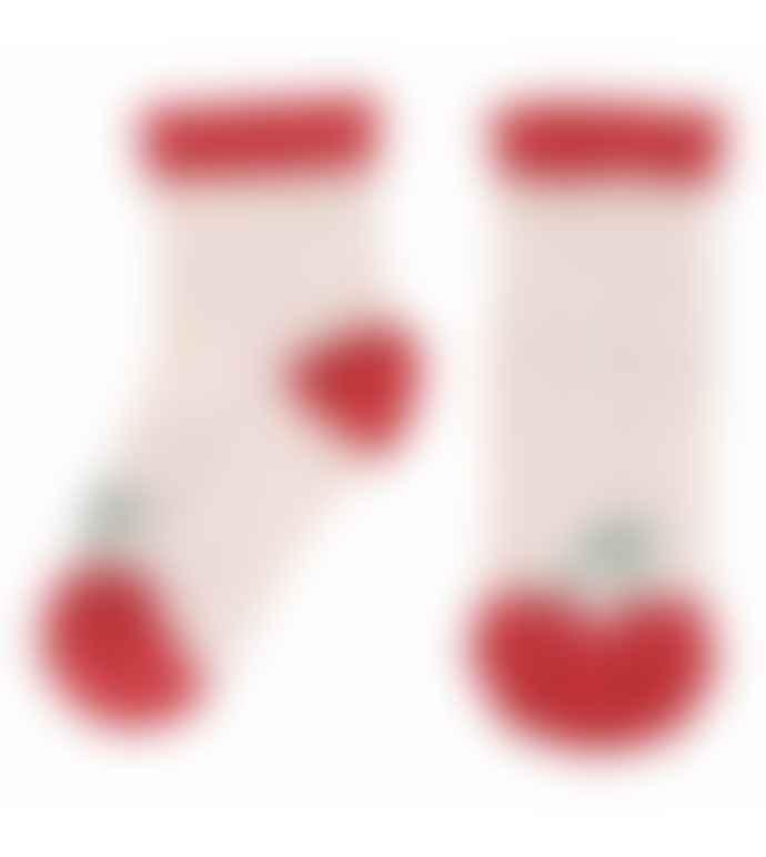 Emile Et Ida Cherry Baby Socks